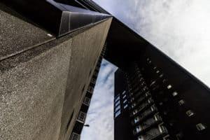 architectuur tasmantoren gebouw lijnen groningen