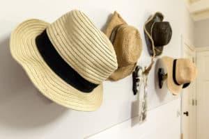 hoeden decoratie accessoires kapstok landelijk interieur
